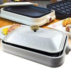 ROOMMATE 3WAY ホットプレート ホワイト EB-...