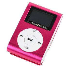 クリップ式 MP3プレイヤー(カラーはランダム)