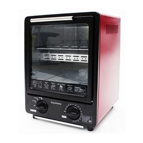 【レッド】縦型オーブントースター