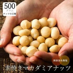 【500g】素焼きマカダミアナッツ