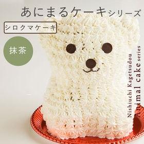 アニマル ケーキ シロクマケーキ (抹茶) | とびっきり可愛いケーキを家族と友達や大切な人と…もちろんおひとり様でも!お試しあれ!