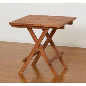 チークテーブル 折りたたみ式