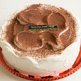 【5号(約15cm)】ティラミスケーキ | ほろ苦ティラミスケーキ!お祝い事や誕生日のバースデーケーキに最適♪マスカルポーネたっぷり!
