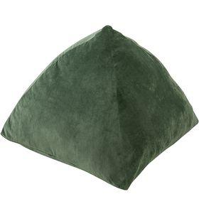 【グリーン】なめらかベロアタワークッション 70×70cm