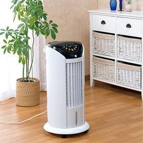 人感センサー付きタワー冷風扇