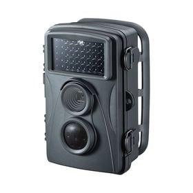 トレイルカメラ(ワイヤレス・赤外線センサー内蔵・500万画素...