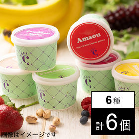 【100ml×6個】フルーツソムリエが作った果物アイス