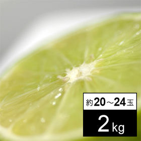【2kg】フルーツ屋さんが選んだメキシコ産 ライム(約20-...
