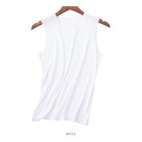 【ホワイト/XLサイズ】シームレスアイスインナー