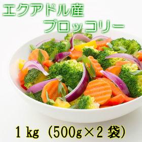 【1kg(500g×2袋)】生食用  ブロッコリー