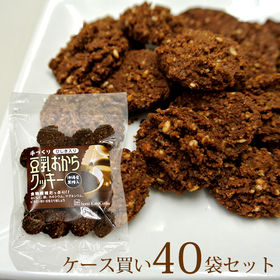 【50g×40袋】豆乳おからクッキー/ひじき入りタイプ(ケー...