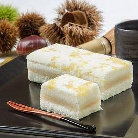 <新杵堂>栗粒を散りばめた豆乳ケーキ【栗ふわふわ】