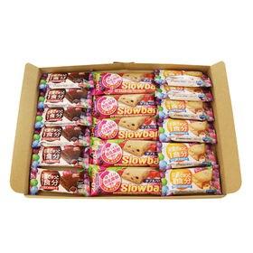 【3種・全17コ】ブルボン・グリコ 栄養機能お菓子 Jセット