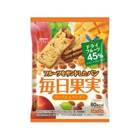 【6枚(3枚×2袋入)・6コ入り】グリコ 毎日果実 アップル...