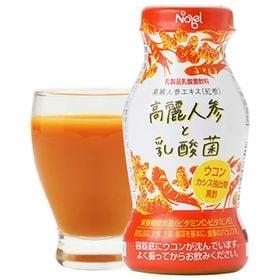 <12本×2ケース 計24本>乳酸菌飲料 ノーベル 高麗人参...