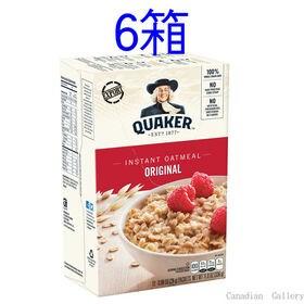 【6箱】クエーカー オートミール レギュラー 336g 12...