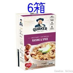 【6箱】クエーカー オートミール レーズン&スパイス 430...