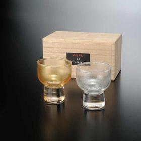 ぬりもん de Verre 盃 杯 涼金 涼銀 ペア