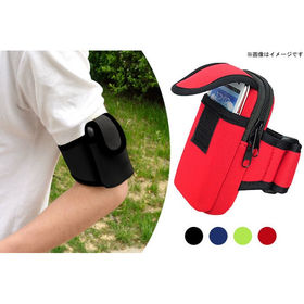 【ブラック&ランダム/2個セット】防水ランニングアームバッグ