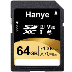 SDXCカード64GB超高速R:100MB/s W:70MB...