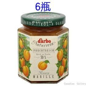 【6瓶】ダルボ ローズアプリコット ジャム 200g