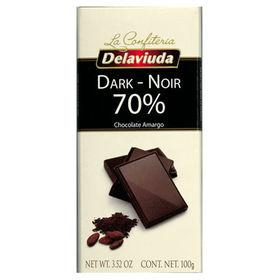 【14個】デラビューダ 70%ダークチョコレート 100g