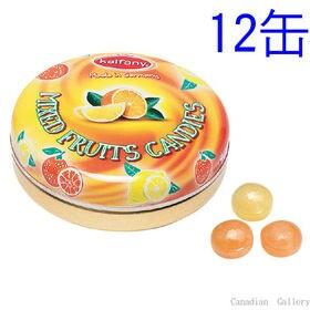 【12缶】カルファニー  ミックスフルーツキャンディ 35g