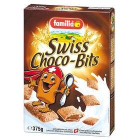 【6箱】ファミリア スイスチョコビッツ 375g