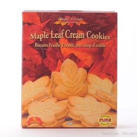 【4箱】メープルテルワー メープルリーフ クリームクッキー ...