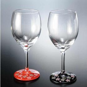 ぬりもん de Verre ワイングラス 蒔絵 桜 ペア