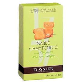 【6箱】フォシエ シャンパンサブレ 66g(6枚入り)
