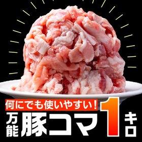 【1kg(500g×2)】万能豚こま