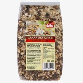 【3袋】デルバ チョコレートミューズリー 500g