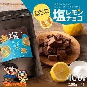 【400g(100g×4袋)】塩分チャージ チョコレモン
