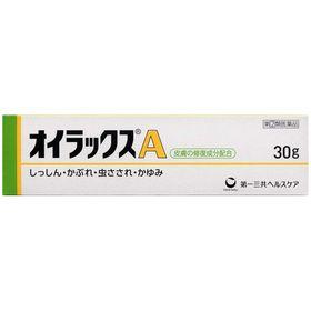 オイラックスA 30g 皮膚の塗り薬 かゆみ かぶれ(指定第...