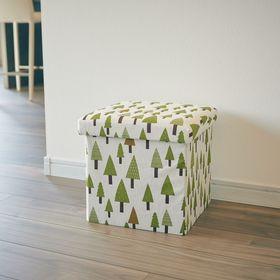 【ツリー・2個セット】座ってしまえて畳める便利ボックス