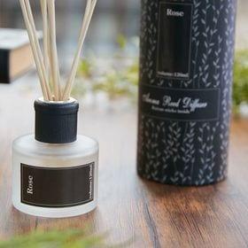 【2個セット】【Rose】アロマリードディフューザー BK | アロマの香りに包まれる贅沢空間を演出します。