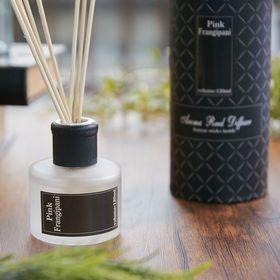【2個セット】【PINK FRANGIPANI】アロマリードディフューザー BK | アロマの香りに包まれる贅沢空間を演出します。