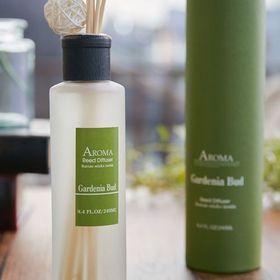 【2個セット】【Gardenia Bud】アロマリードディフューザー 「A-ROMA」 Lサイズ | アロマの香りに包まれる贅沢空間を演出します。