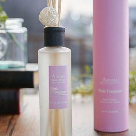 【2個セ】【PINK FRANGIPANI】アロマリードディフューザー 「A-ROMA」 Lサイズ | アロマの香りに包まれる贅沢空間を演出します。