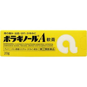 ボラギノールA軟膏 20g ステロイド配合 痔の薬 (指定第...