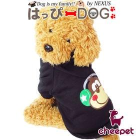 【ブラック/Lサイズ】犬 服 犬服 犬の服 パーカー おサル...