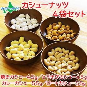 【4袋】焼カシュー カシューナッツ セット