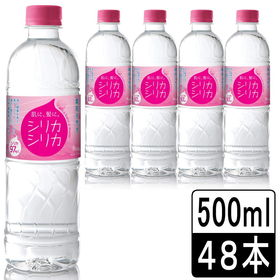 【500ml×48本】 美いね(びいね)シリカシリカ