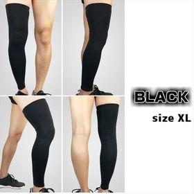 レッグウォーマー(両足用) 【ブラック:XL】