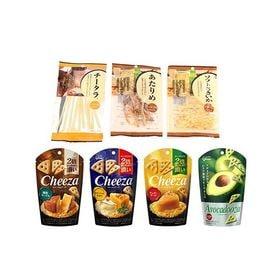 【7種・計7コ】グリコ チーザ & おつまみセット
