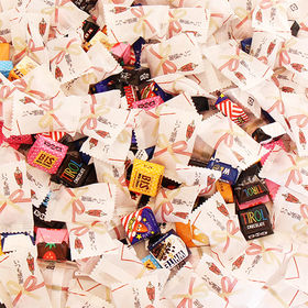 【2種・計222コ】チロルチョコ&感謝チョコセット