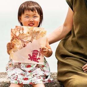 【1枚入×5袋】あさひ本店 江の島丸焼き たこせんべい