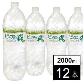 天然水ピュアの森2000ml×12本 | 自然が生んだ美味しい天然水!!