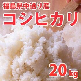 【20kg (5kg×4袋)】令和元年産 新米 福島県中通り...